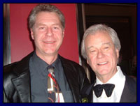 Roger with Gordon Pinsent