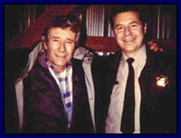 Roger with Robert Fuller